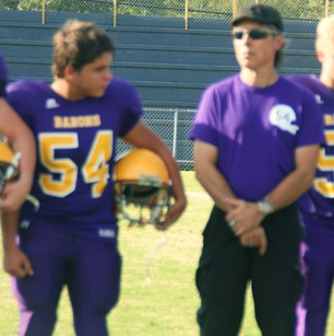 eighth grade football players recognized